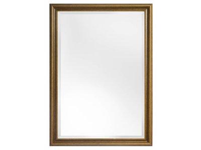 Perla Asti - spiegel met gouden houten lijst