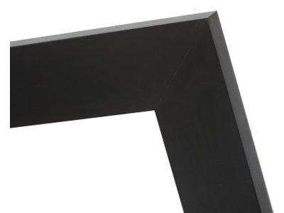 Milano - Stoere Brede Lijst - Kleur Zwart