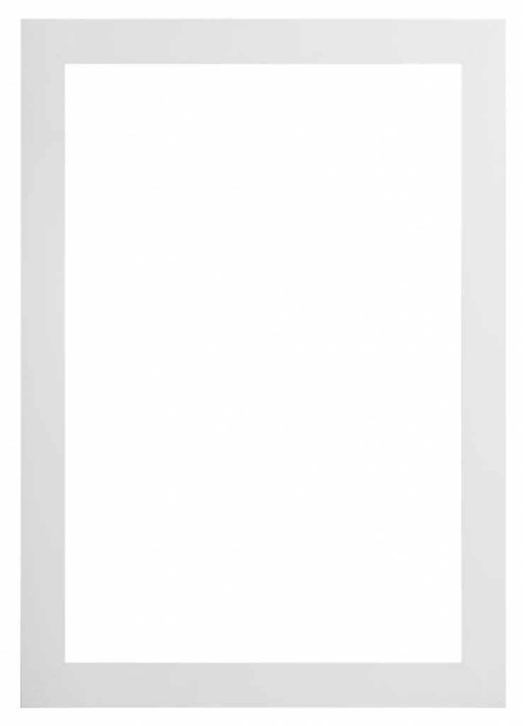 Milano - brede witte lijst