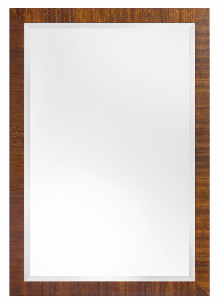 Lecce spiegel met luxe houten lijst for Houten spiegel