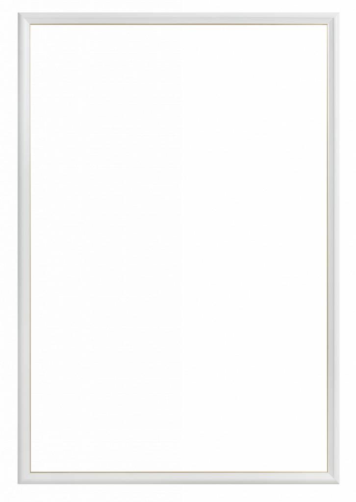 Udine - smalle witte lijst