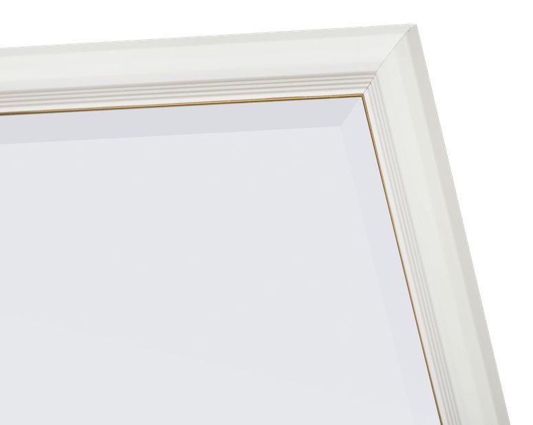 Udine - spiegel met smalle witte lijst