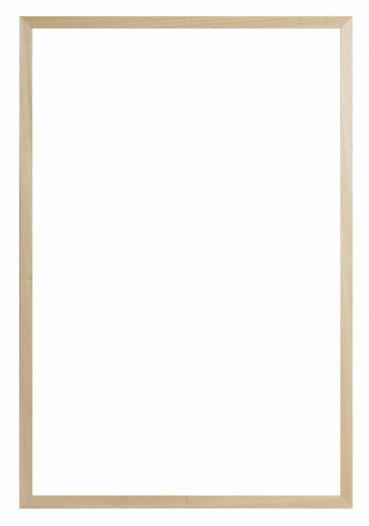Oslo - smalle platte houten schilderijlijst