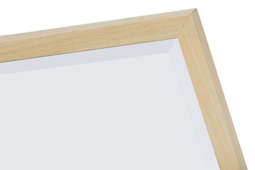 Oslo spiegel met smalle houten lijst for Houten spiegel