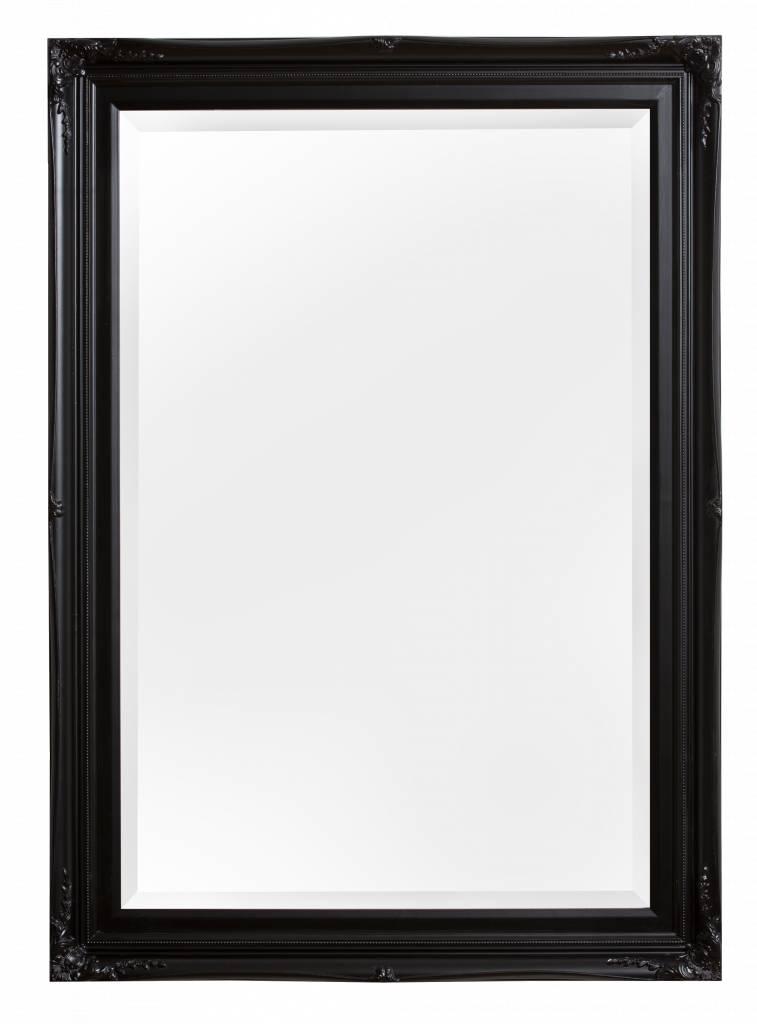 Verona spiegel met klassieke zwarte lijst for Spiegel met zwarte lijst