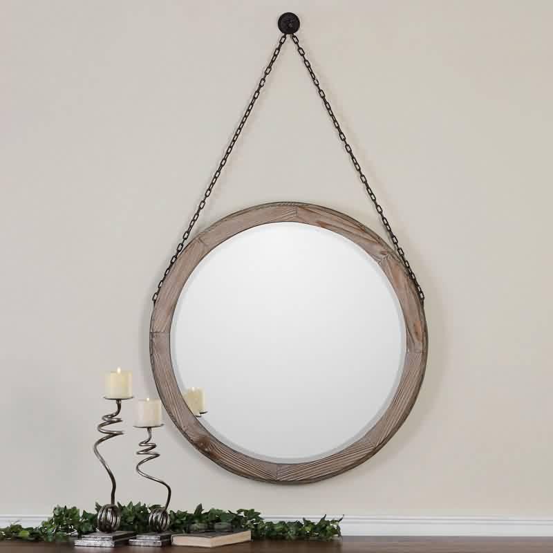 Great apulia ronde spiegel with ronde houten spiegel with for Ronde spiegel met touw