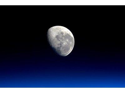 Maan by NASA