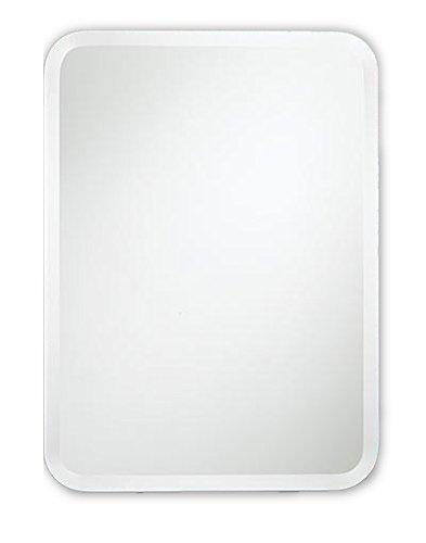 Spiegel met Ronde Hoeken - Zonder Lijst - Vele Maten Mogelijk