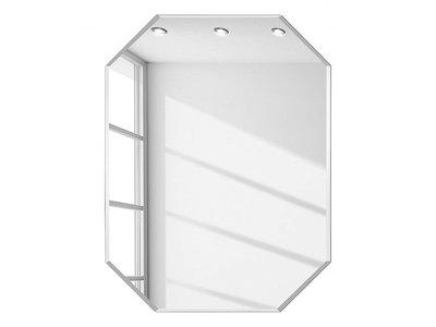 Diamant spiegel zonder lijst