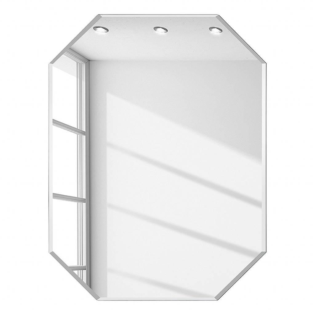 Diamantvormige Spiegel - Zonder Lijst - Vele Maten Mogelijk