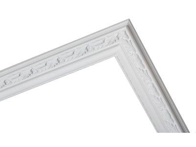 Bonalino klassieke witte lijst