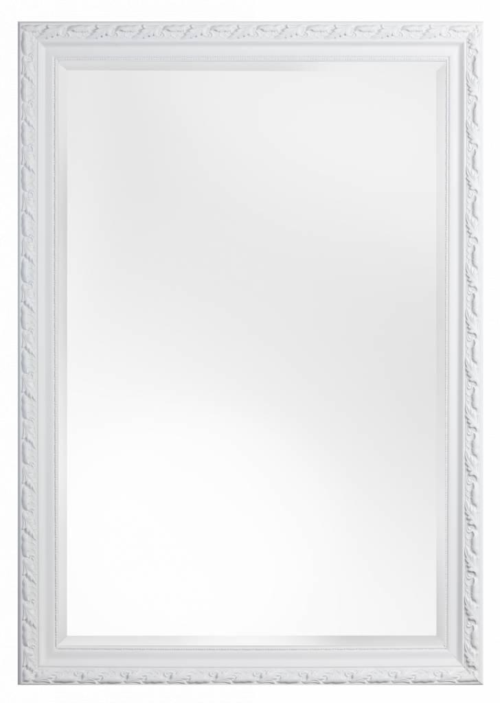 Bonalino spiegel met barok witte lijst