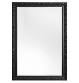 Bonalino betaalbare spiegel met barok zwarte lijst