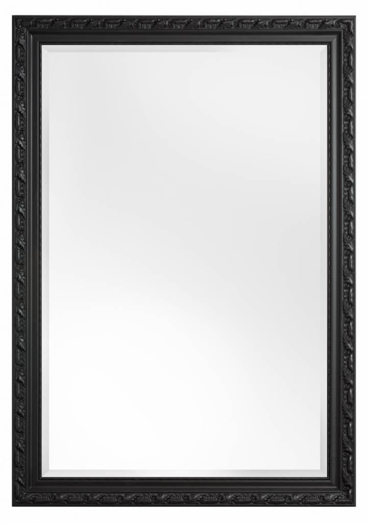 Bonalino spiegel met barok zwarte lijst for Spiegel zwarte lijst
