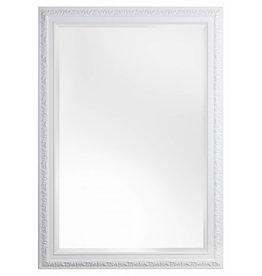 Witte barok spiegels kunstspiegel for Barok spiegel groot