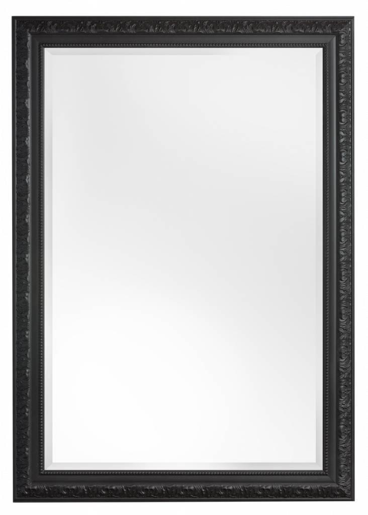 Palmi - Barok Spiegel - Zwart Frame