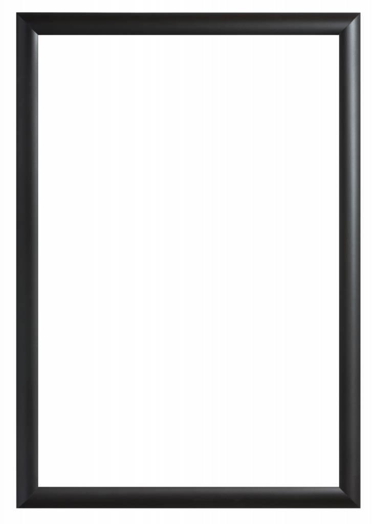 Augusta - Moderne Bolle Lijst- Zwart Gekleurd