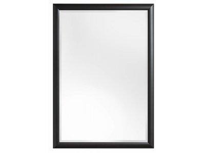 Augusta - Moderne Spiegel met Bolle Rand - Kleur Zwart