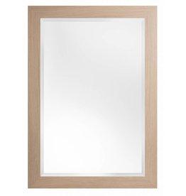 Sardinia Grande - spiegel met luxe licht houten lijst