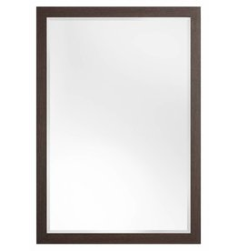 Sardinia - spiegel met luxe donker houten lijst