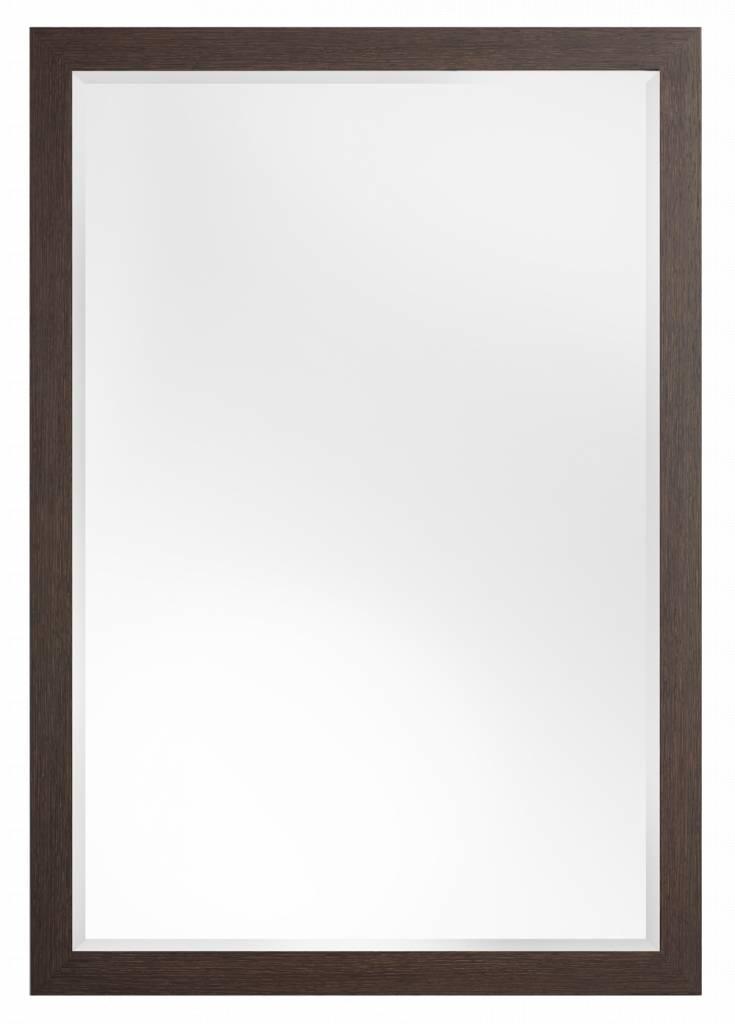 Sardinia Medio- spiegel – donker hout kopen Spiegels > Spiegels op maat > Muurspiegel? Dat doe je hier snel en voordelig – snel in huis bezorgd