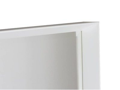 Corsica Grande - Diepe Moderne Spiegel - Wit GekleurdCorsi *Corsica Grande - Diepe Moderne Spiegel - Wit Gekleurd Frame
