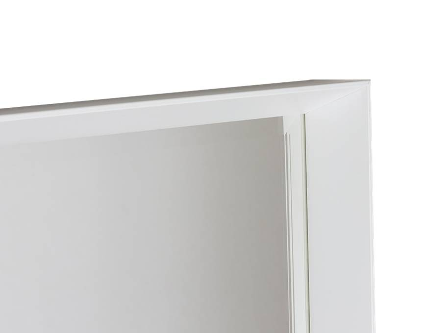Corsica Grande - bakspiegel met witte designlijst