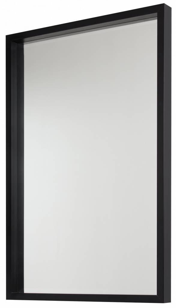 Veneto - design bakspiegel met zwarte lijst