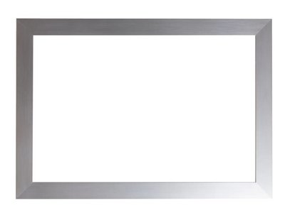 Bettola - Moderne Lijst - Geborsteld Zilver-Look