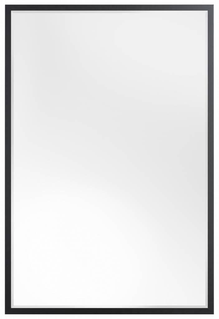 Sottile - Betaalbare Moderne Spiegel - Simpel Zwart Frame