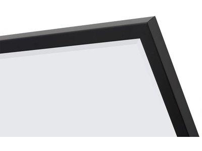 Sottile - spiegel - zwart