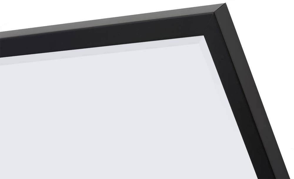 Spiegel Zwarte Lijst : Sottile betaalbare moderne spiegel simpel zwart frame