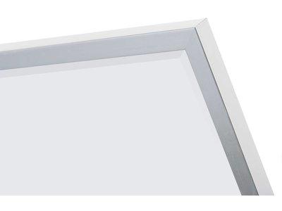 Sottile - spiegel - geborsteld zilver