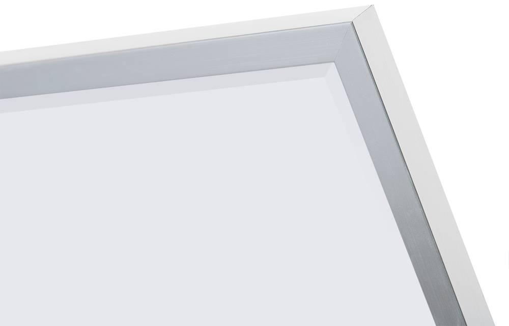 Sottile - Betaalbare Moderne Spiegel - Geborsteld Zilver-Look Frame