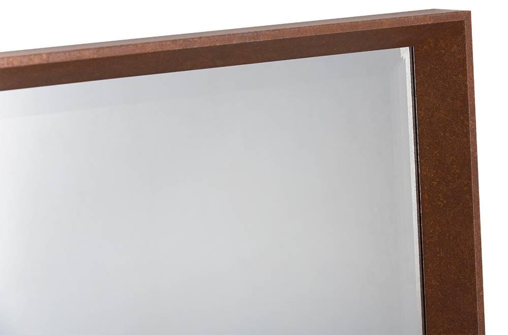 Molise - industriele bakspiegel met roest look