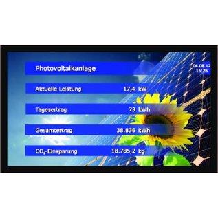 """GA-LCD Monitor Set 43"""" Standard inkl. RiCo Datenbox mit Impuls oder RS-485 Eingang"""