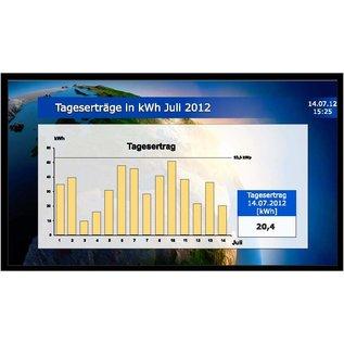 "GA-LCD Monitor Set 43"" LED Monitor, Mini PC, Databox, RiCo VisiSoft"