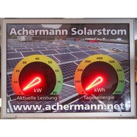 GA-Solarstrom Cockpit
