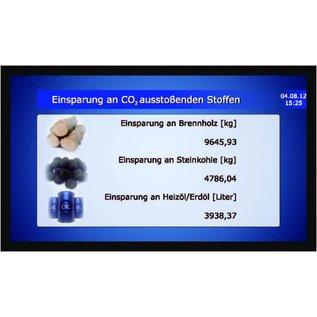"GA-LCD Monitor Set 24"" - Set Basic for Solarlog, Webbox, Clustercontroller, Fronius Symo"