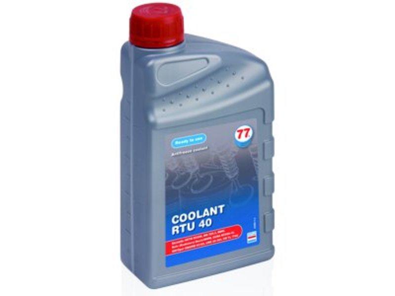 77 Lubricants 1ltr, Koelvloeistof RTU 40 (groen)