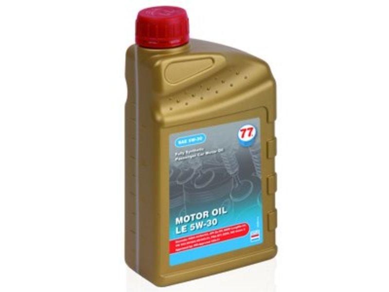 77 Lubricants carton 12x1ltr, Motor olie LE 5W-30