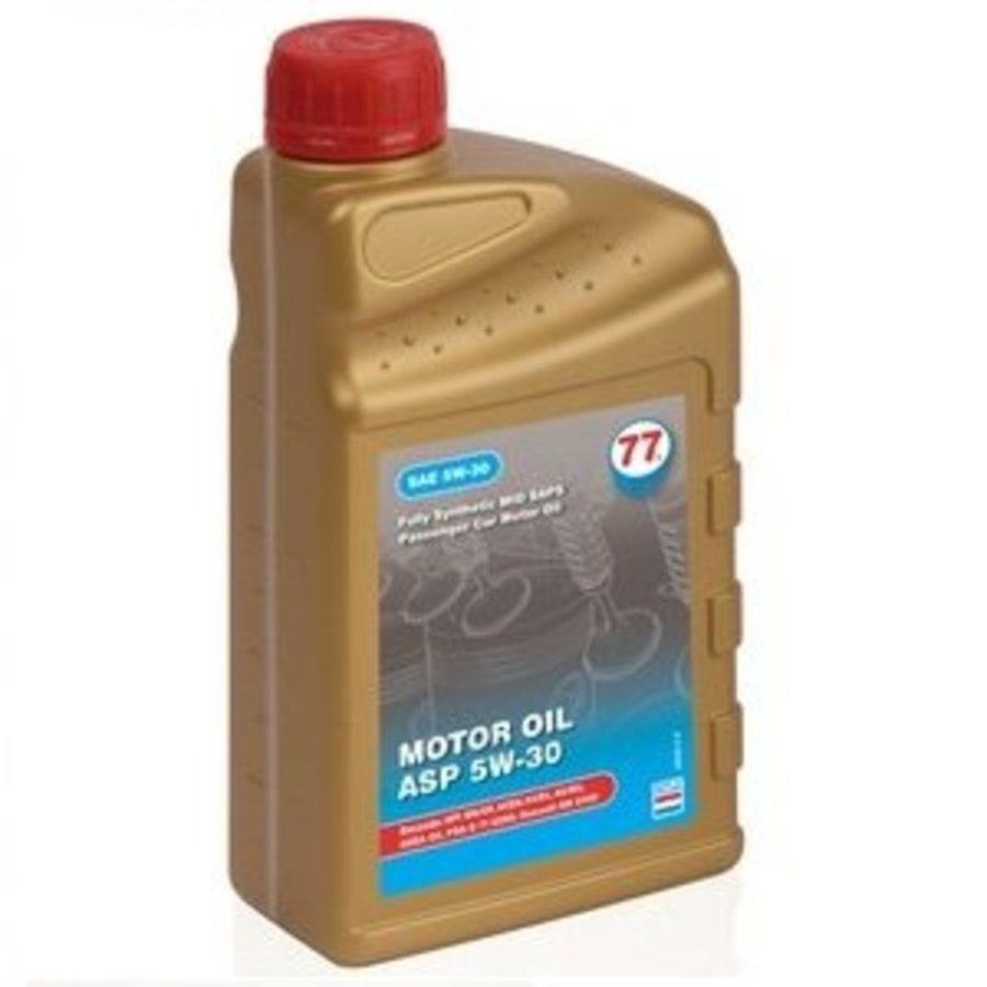1ltr, Motor olie synthetisch ASP 5W-30