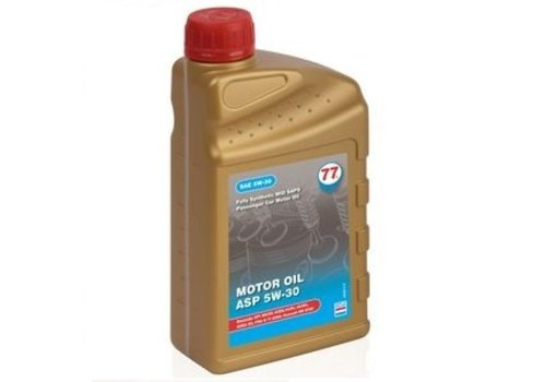 77 Lubricants carton 12x1ltr, Motor olie synthetisch ASP 5W-30