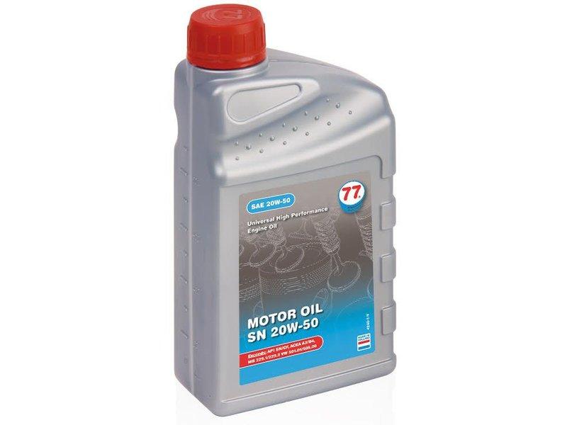 77 Lubricants 1 ltr, motorolie 20W-50 SN