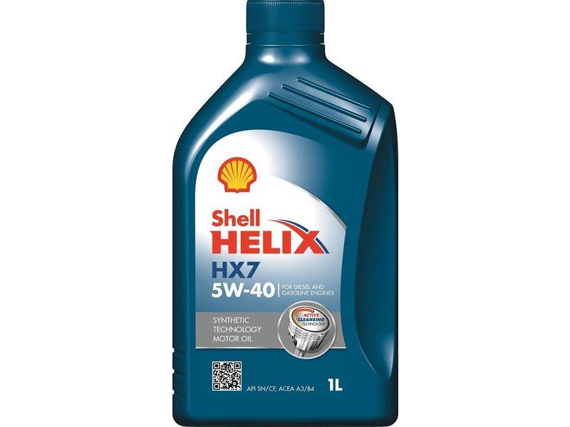 Shell Motorolie HELIX HX7 5W40, 12 x 1 ltr