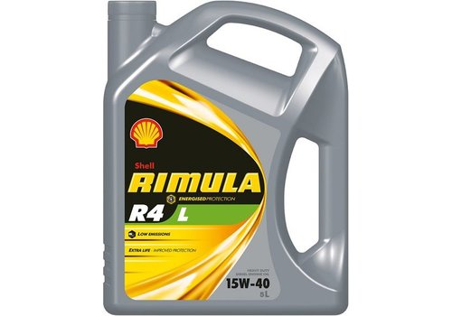 Shell RIMULA R4 L 15W40 - heavy duty engine olie, 5 ltr