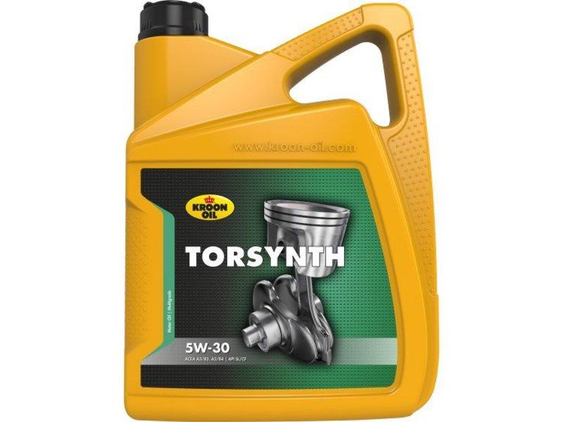 Kroon Oil Motorolie Torsynth 5W30, 5 ltr
