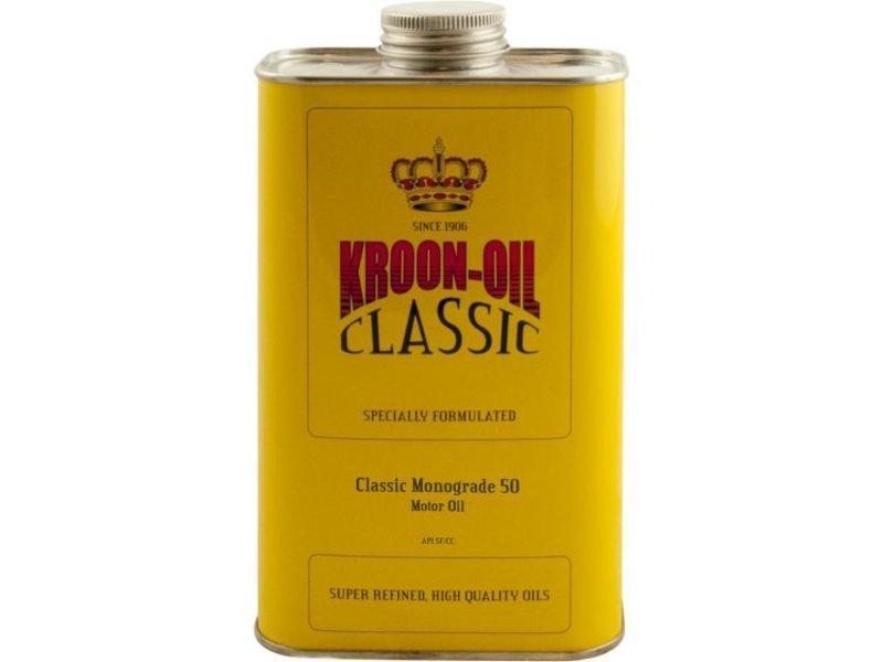 Kroon Oil Motorolie Classic Monograde 50, 1 ltr