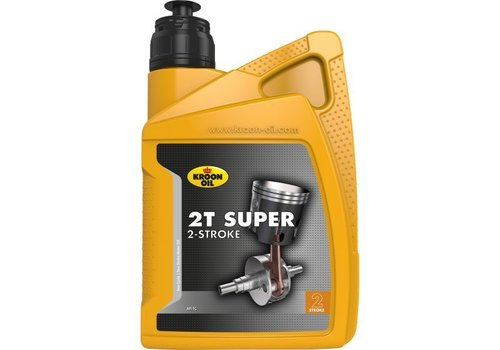 Kroon Oil 2T Super - motorfietsolie, 1 ltr