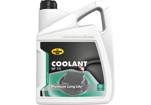 Kroon Oil Coolant SP 14 - Koelvloeistof, 5 lt